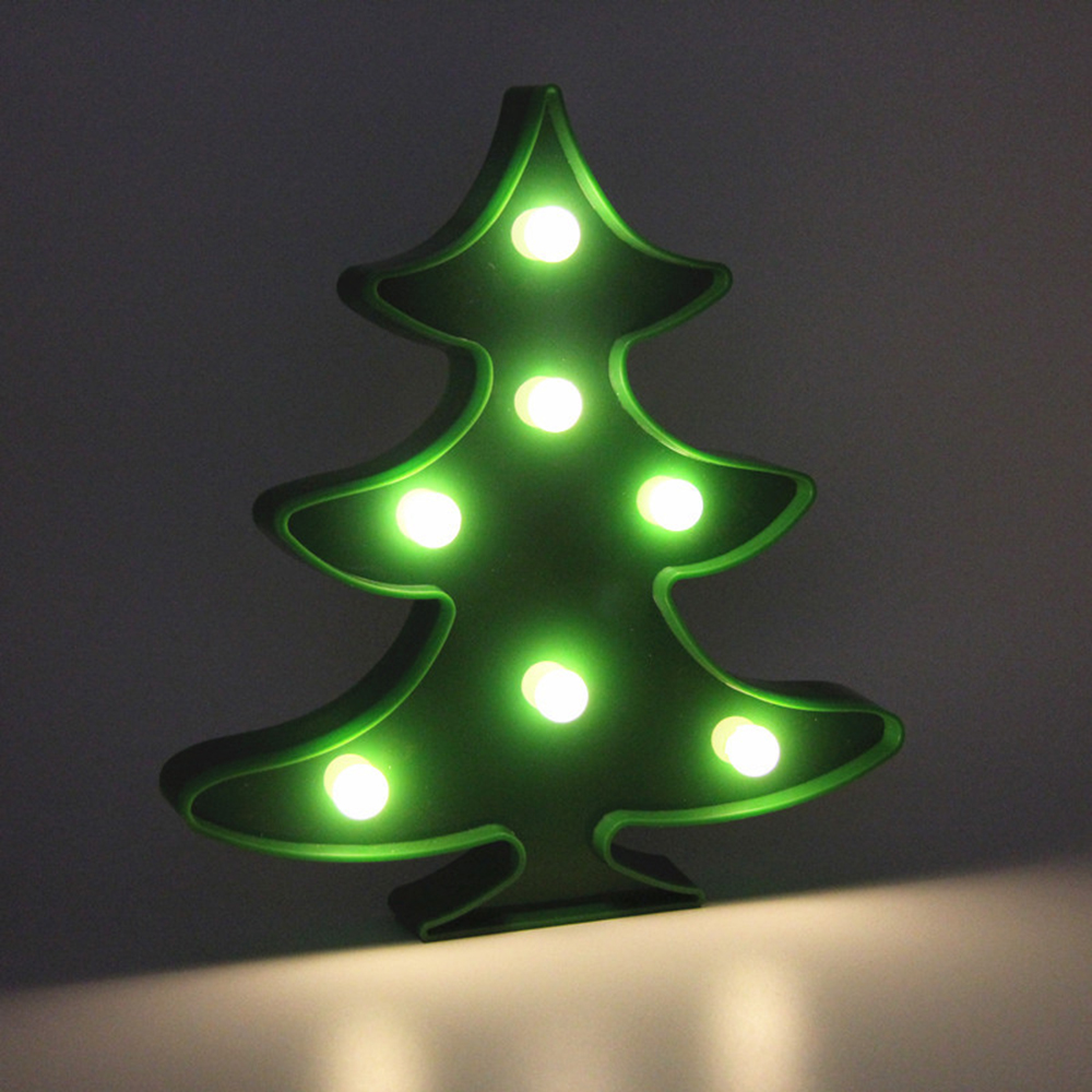 brelong 3d warm white decoration night light for kids room christmas wedding christmas tree 3v - Christmas Tree Night Light