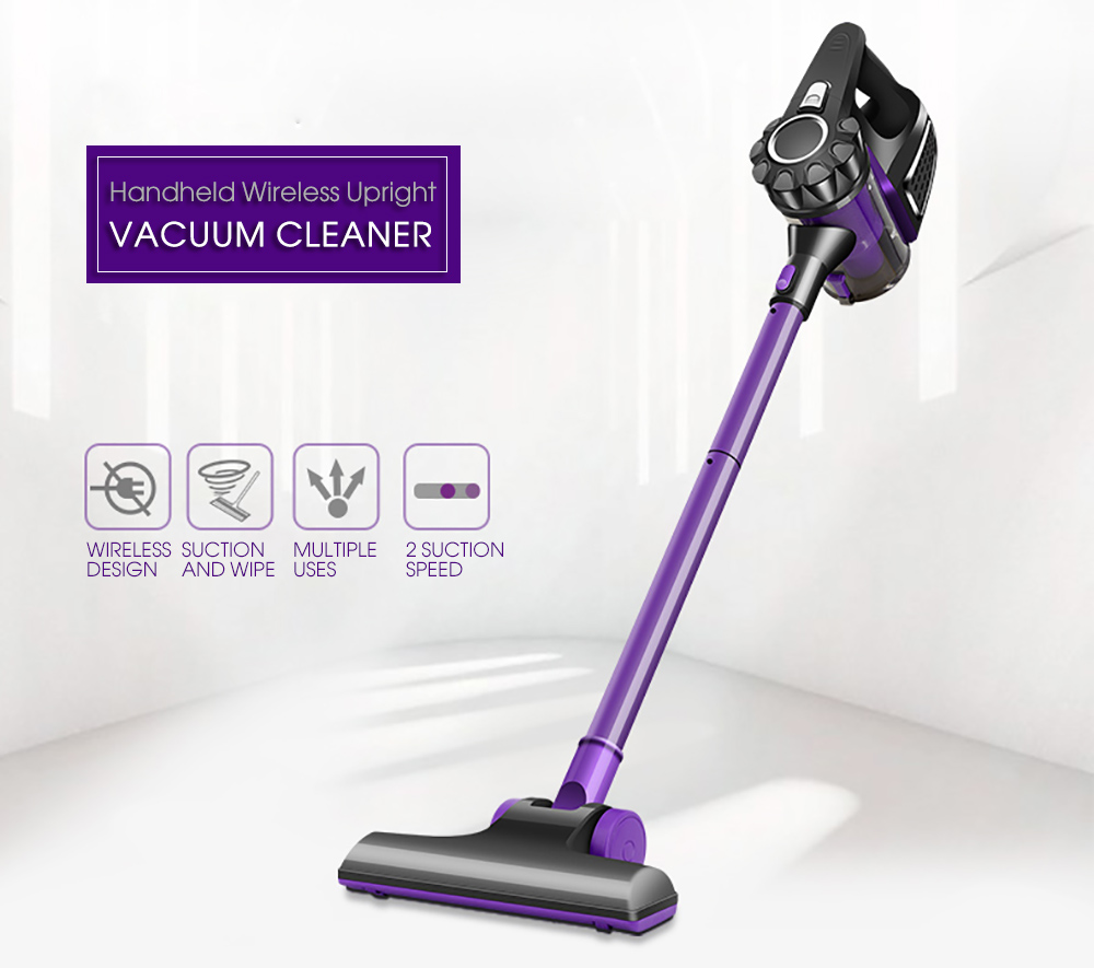 Handheld Wireless Upright Vacuum Cleaner