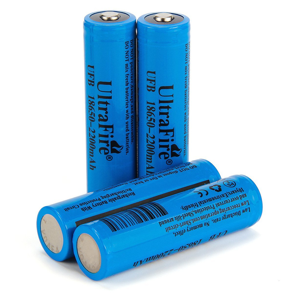 Ultrafire 18650 37v Actual Capacity Of 2200mah Rechargeable Lithium Latest Battery Protection Circuit Buy 4 Groups Cornflower