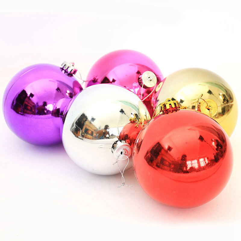 Ws 24pcspack Hot Christmas Tree Ornaments Multicolor Ball 6cm