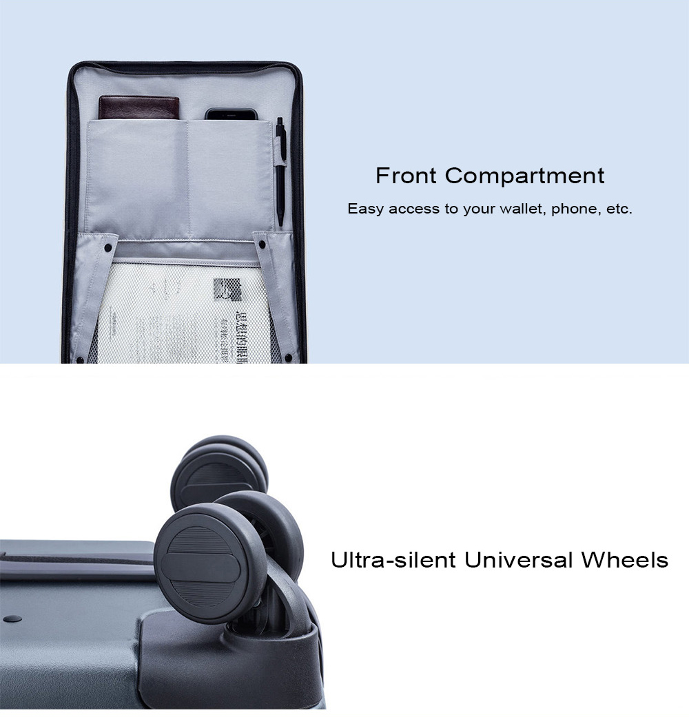 Xiaomi Business 20 inch Opening Cabin Travel Suitcase with Universal Wheel