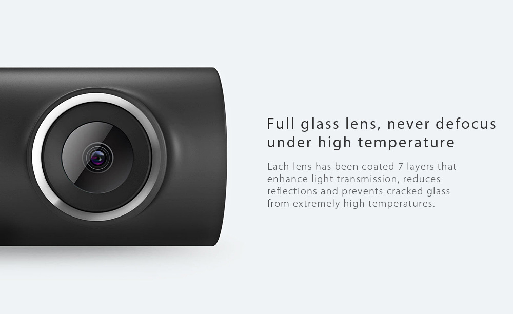 Xiaomi 70 Minutes WiFi Car DVR 1080P Full HD Camera