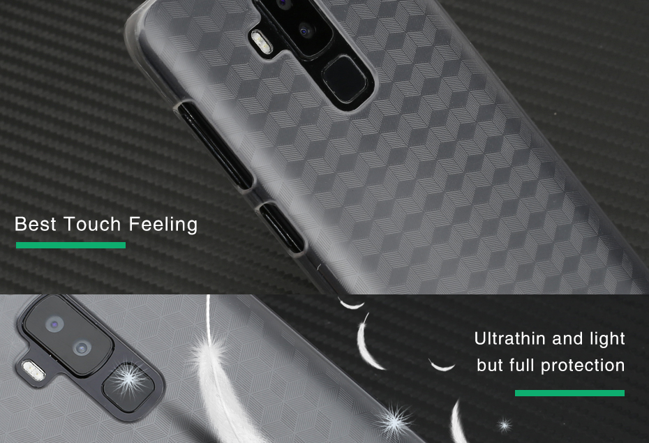 huge discount 7b0df 52c88 Ocube Thinnest Anti-scratch Anti-yellowing Protective Cover Case for Homtom  S8 Cellphone