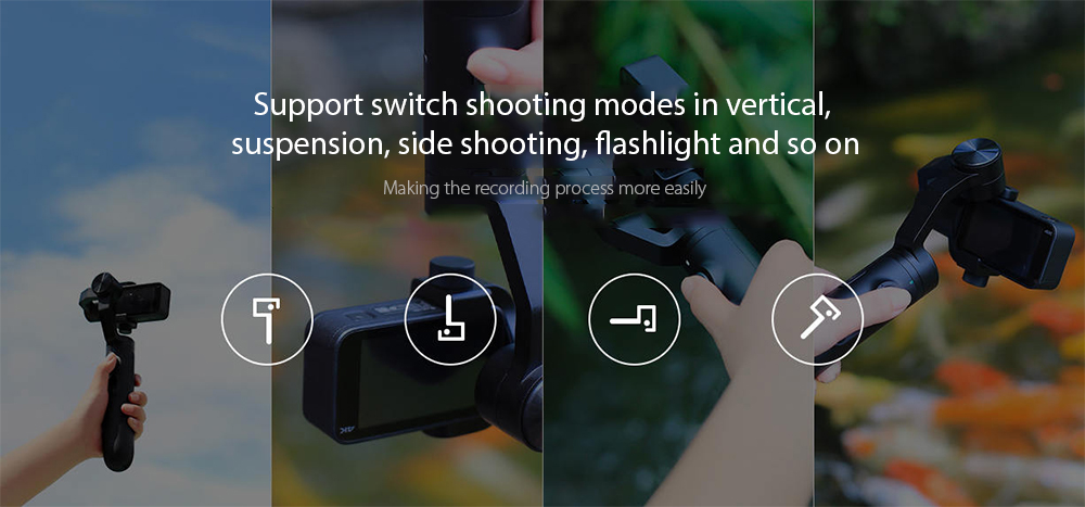Xiaomi Mi Action Camera Handheld Gimbal for Mijia Mini Sports Camera