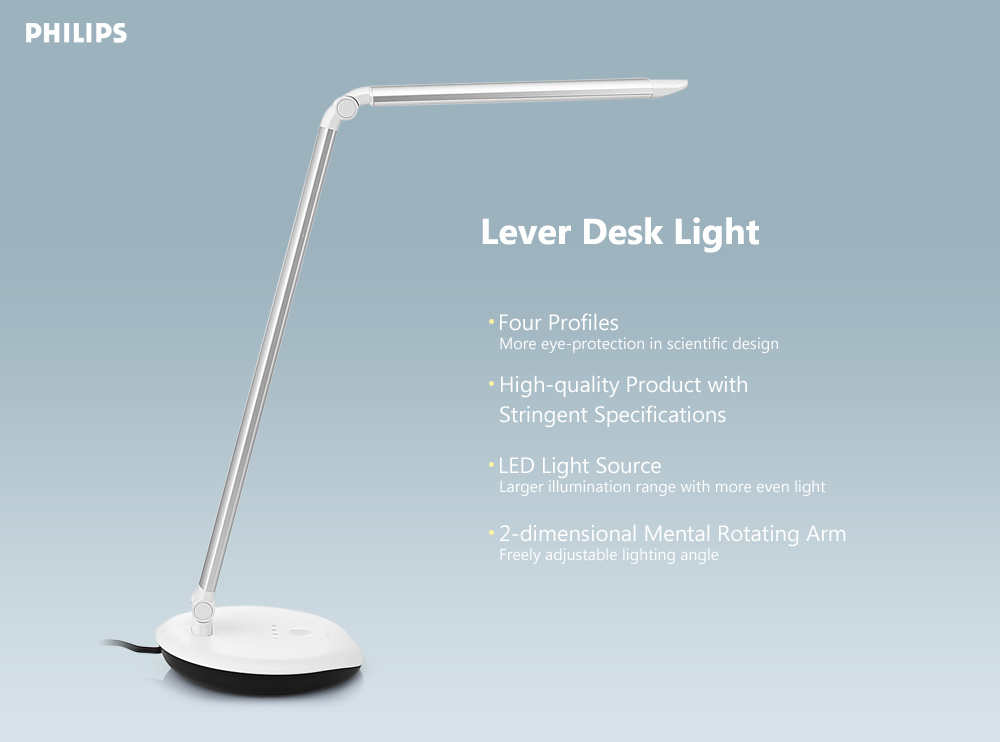Package Contents 1 X Led Desk Lamp English User Manual