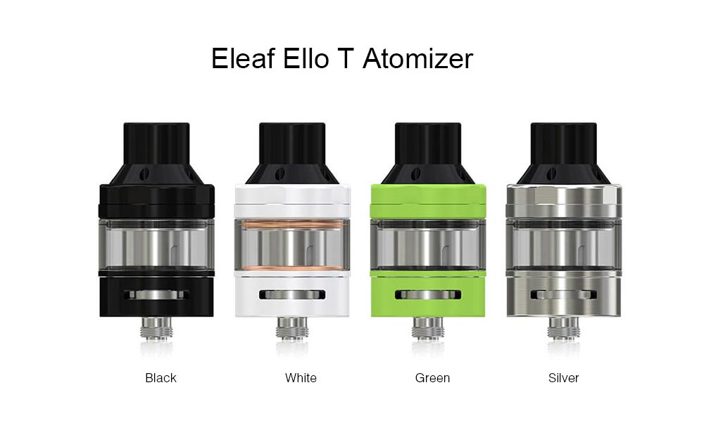Eleaf Ello T Atomizer 4 Colors Available