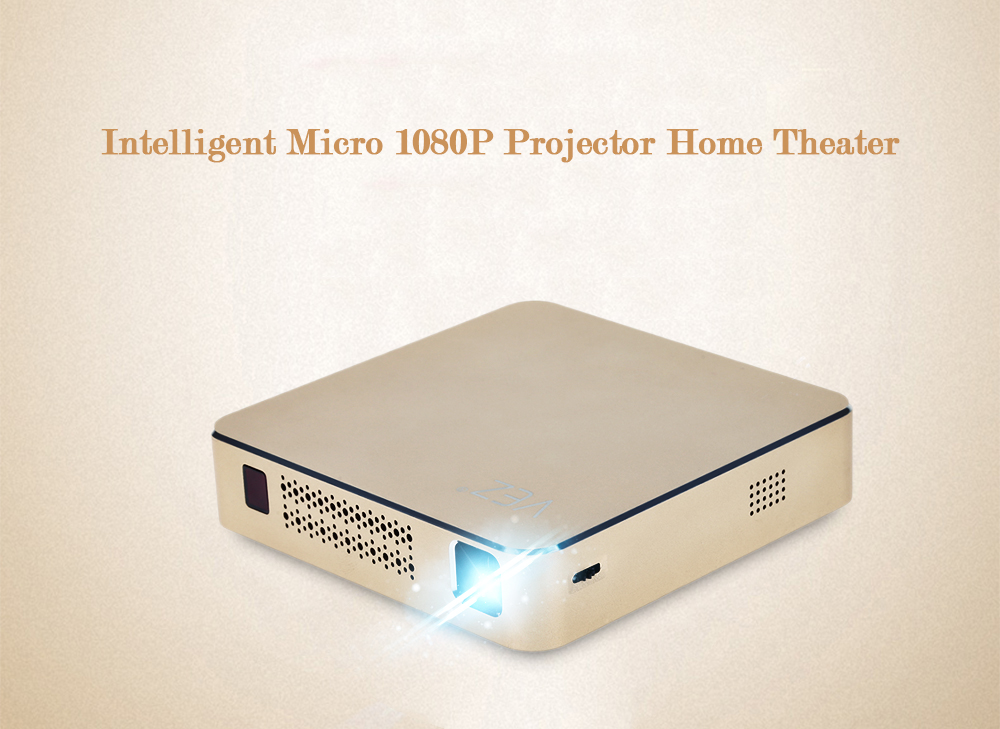 Intelligent Micro Projector Home Theater