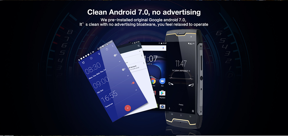 CUBOT Kingkong 3G Smartphone Android 7.0 5.0 inch MTK6580 Quad Core 1.3GHz 2GB RAM 16GB ROM IP68 Waterproof 4400mAh Battery
