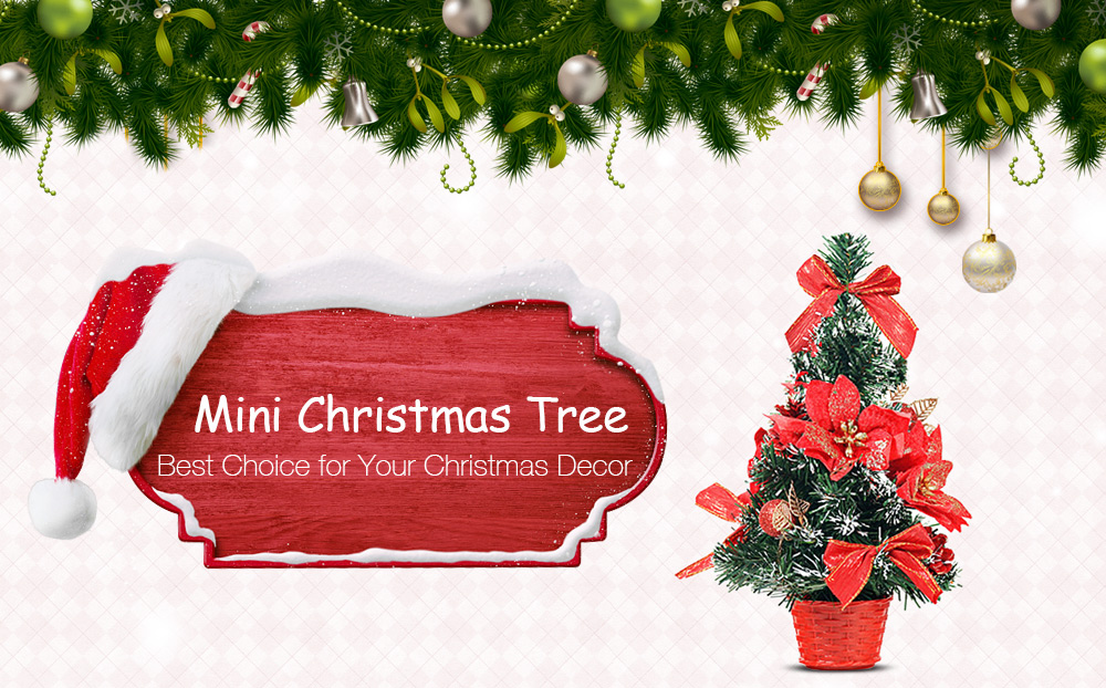 package contents 1 x mini christmas tree