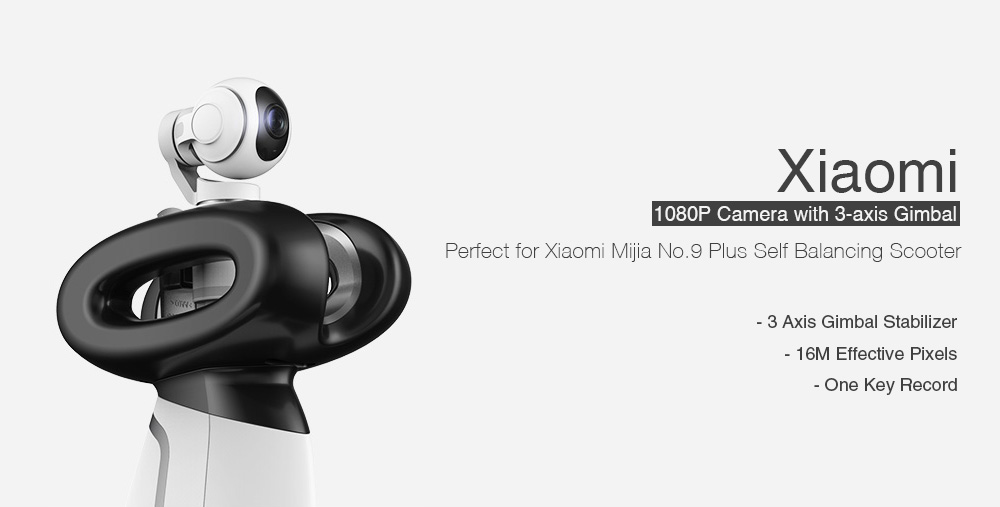 Xiaomi 1080P HD Pan-tilt Camera 3-axis Mechanical Stabilization / 16 Million Pixels