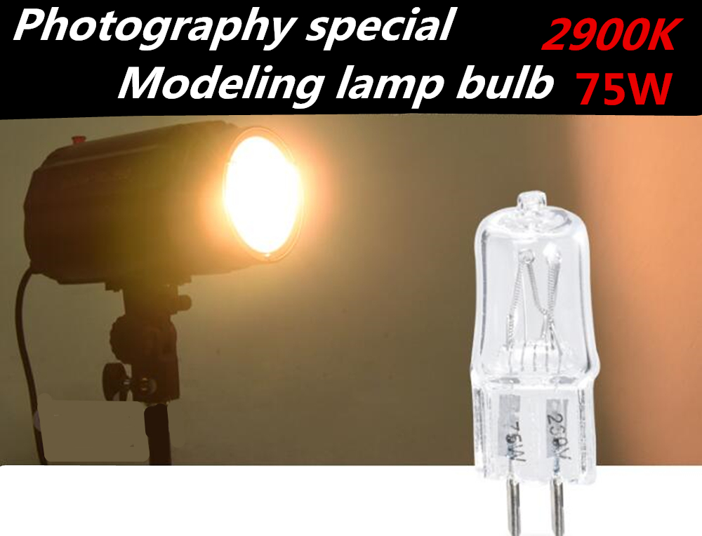 Photography Special 75W Tungsten Wire Bulb for Modeling