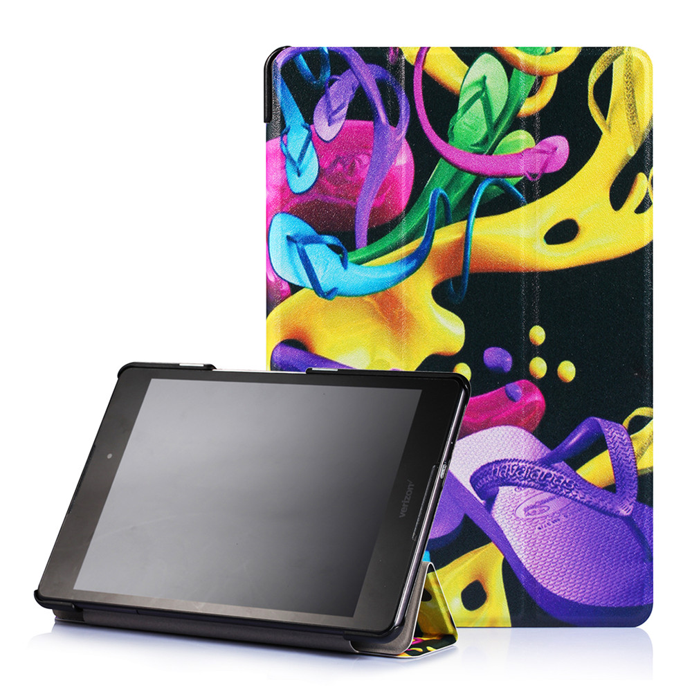 Leather Flip Stand Case for Asus Zenpad 3 8.0 inch Z581KL with Sleep / Wake Function
