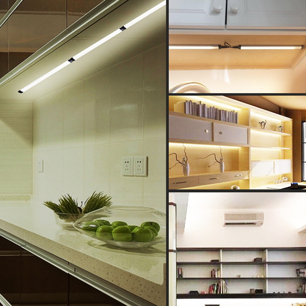 36W 3100LM 12V 12 Inch Dimmable LED Under Cabinet Lighting Total  Accessories Included Closet Light Fixtures