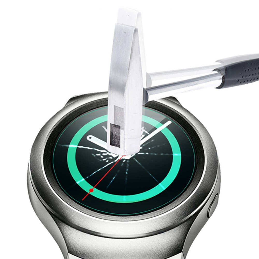 Tempered Glass Explosion Proof Ultra Thin Screen Protector Film For Samsung Gear S2