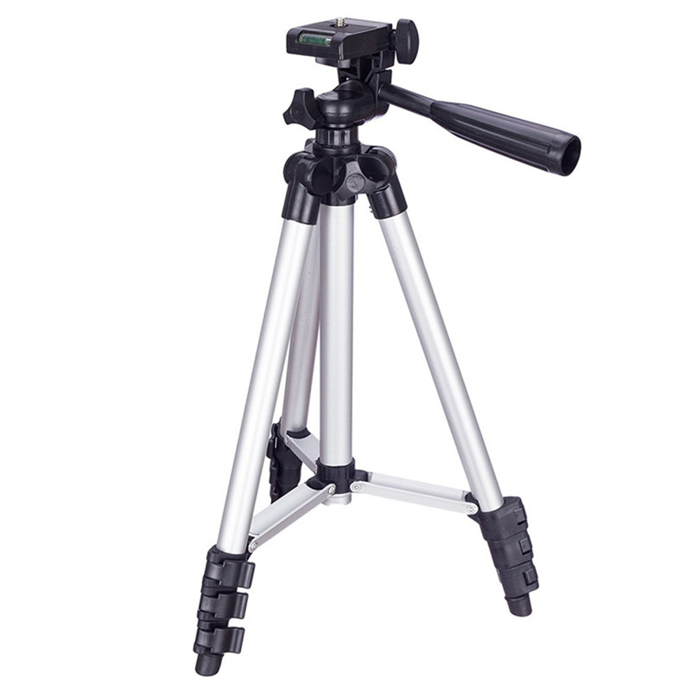Compact Lightweight Multifunctional Tripod Mini Portable Lightweight Micro Gimbal Stand Black