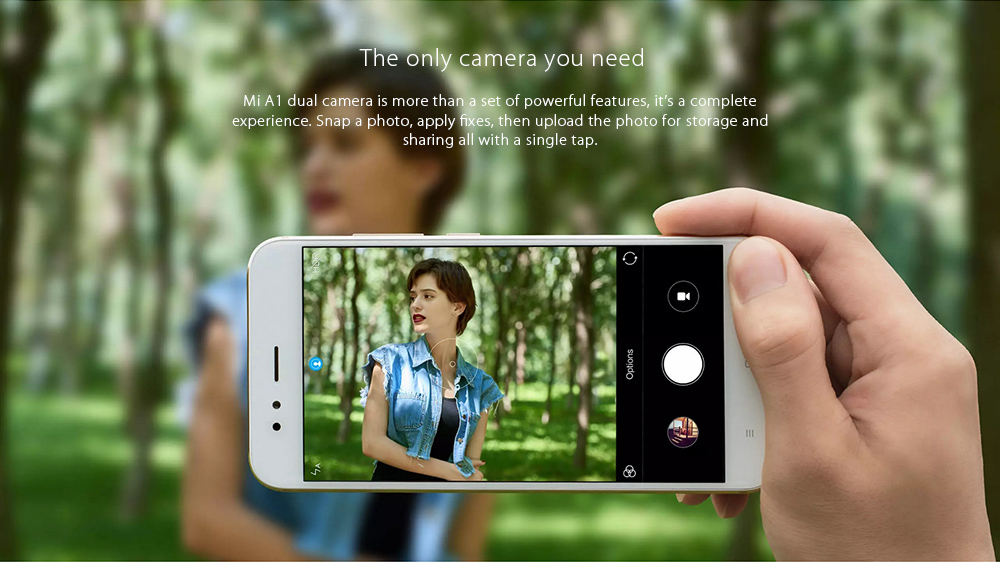 Xiaomi Mi A1 4G Phablet 5.5 inch Android One Global Version Snapdragon 625 2.0GHz Octa