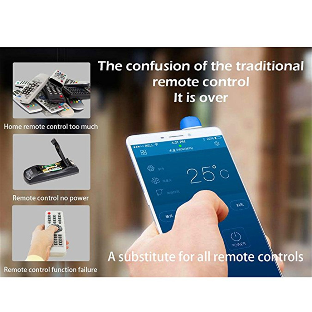 3 5mm Infrared IR TV Air Conditioner Remote Control Controller Universal  For iOS Android System Home Accessories