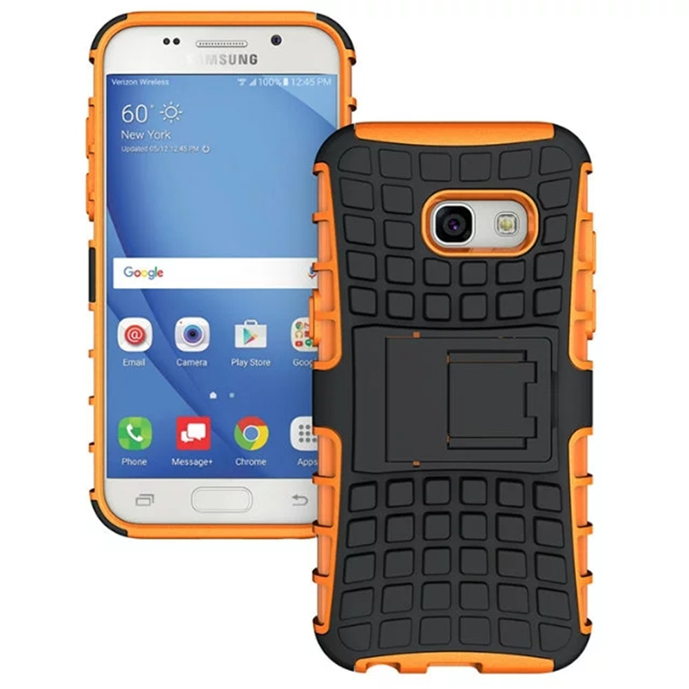 Rugged Spider Armor Heavy Duty Hybrid TPU Silicone Stand Impact Cover for Samsung Galaxy A5 2017 Cases