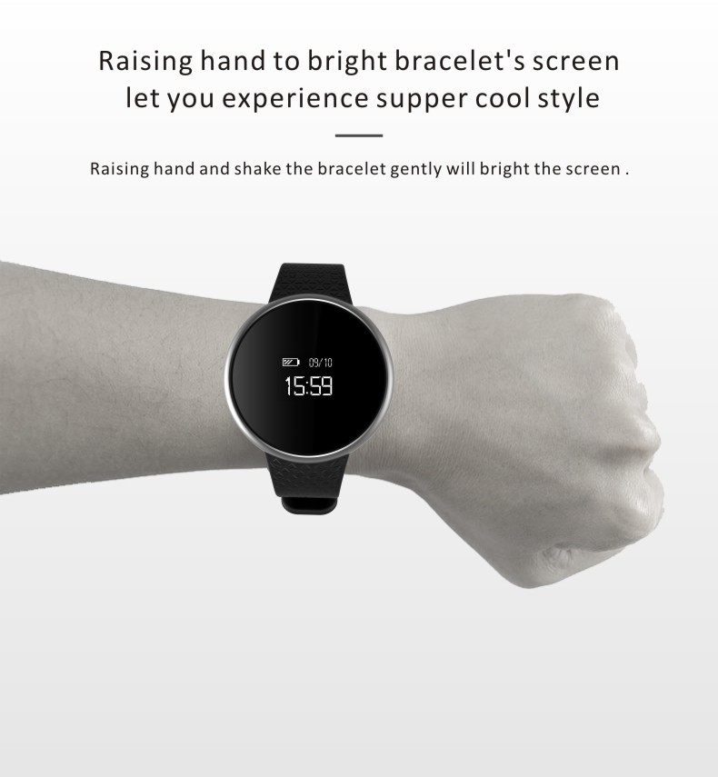 Smart Band A98 Blood Pressure Oxygen Watch Monitor Heart Rate Bracelet Wristband Smartband for iOS Andrioid