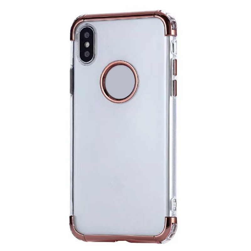 Unicorn Beetle Style Premium Hybrid Protective Clear Case for iPhone X
