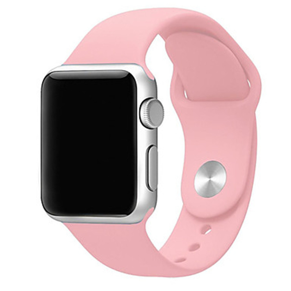 Silicone Replace Bracelet Strap for Apple Watch Series 2/1 Sport Band