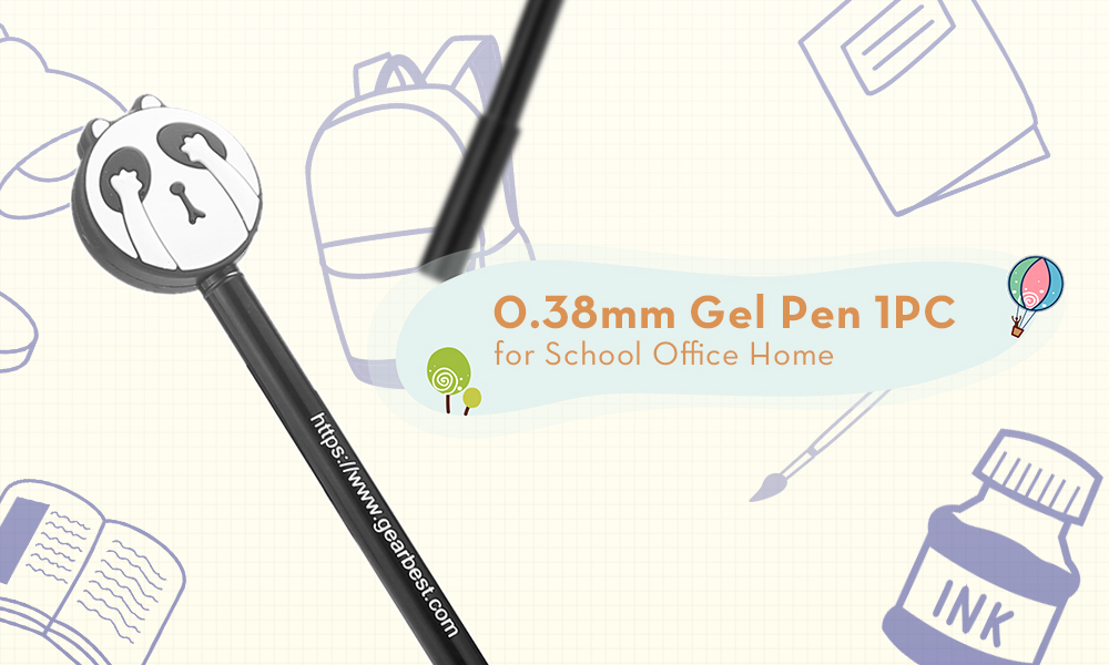 0.38mm Gel Pen for School Office Home