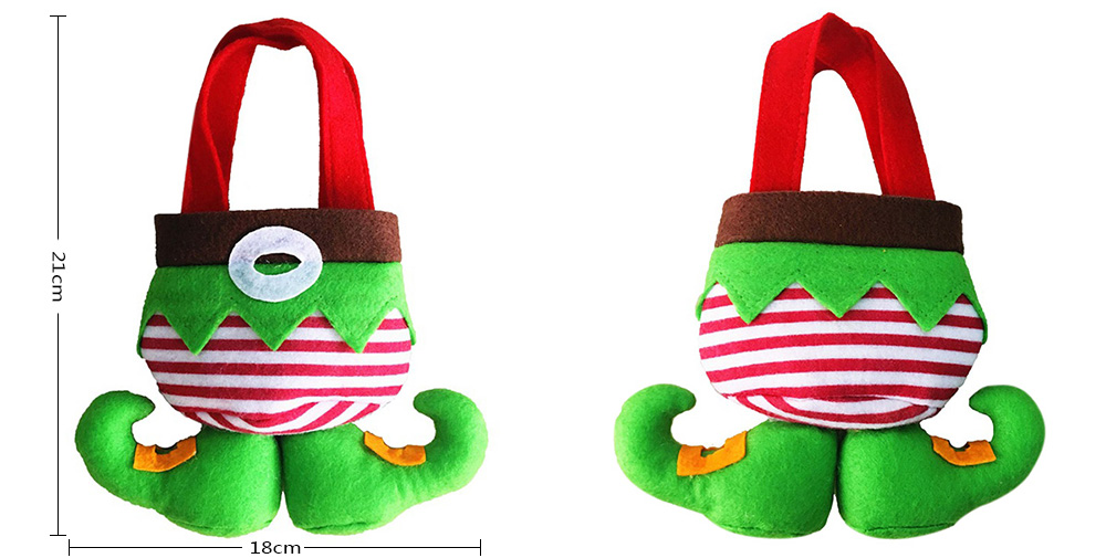 WT81 Creative Cute Christmas Elves Bag 2PCS
