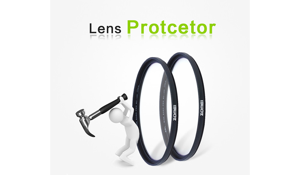 Zomei DW1 Wide Band Pro Slim UV Filter Lens Protector for Canon Nikon Camera