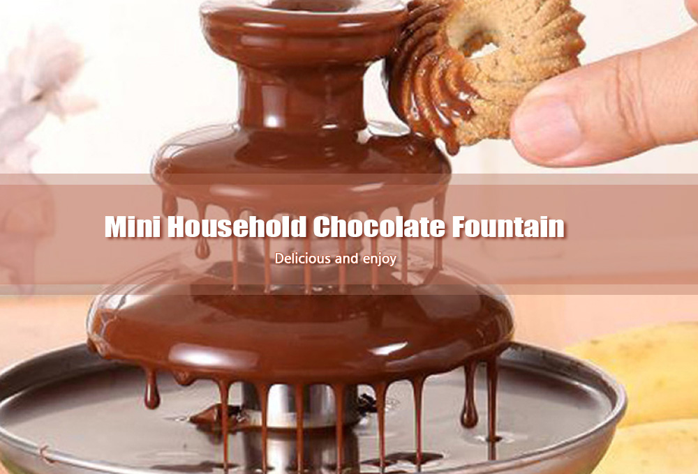 Household Mini Chocolate Fountain Machine