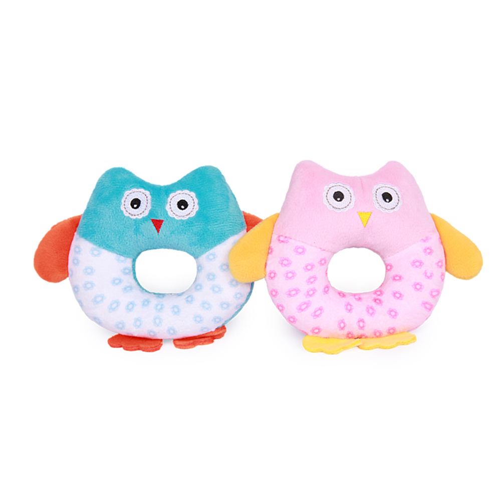 Cute Cartoon Owl Hand Bells