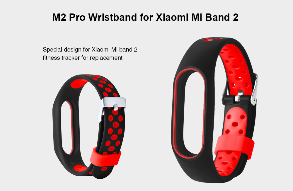 TDG Replacement Strap with buckle for Xiaomi Mi Band 2 / HRX Edition Smart Watch