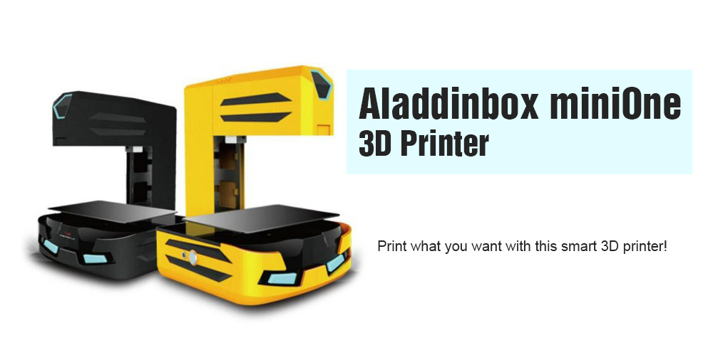 Aladdinbox miniOne Portable Wi-Fi Complete 3D Printer
