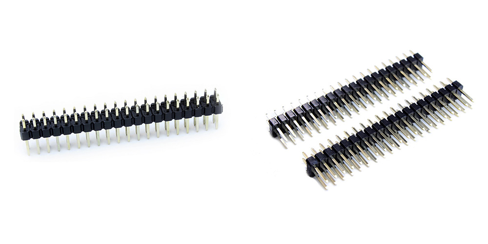 Landa Tianrui LDTR - PJ015 20 Pin 2.54mm Pitch Straight Pin Header for Raspberry Pi Zero W / 2 B+ 2PCS