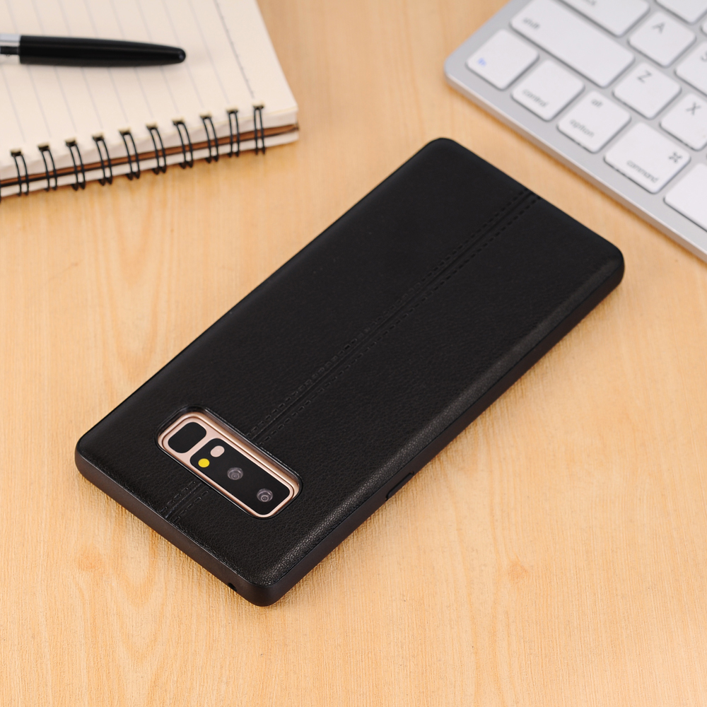Plain Midline Back Cover Mobile Phone Shell Case for Samsung Galaxy Note 8