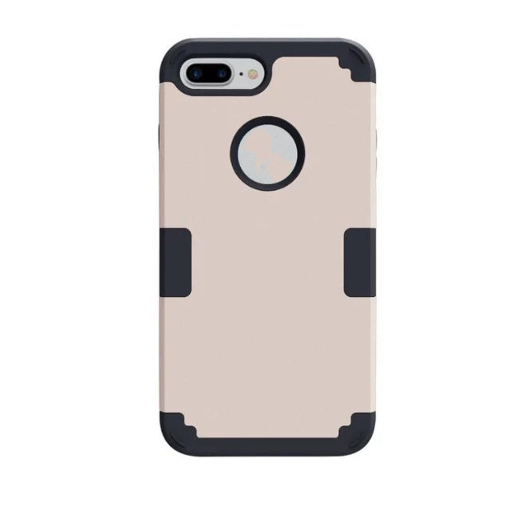 Hybrid Heavy-duty Shockproof Full-body Protective Case with Dual Layer for iPhone 7 Plus