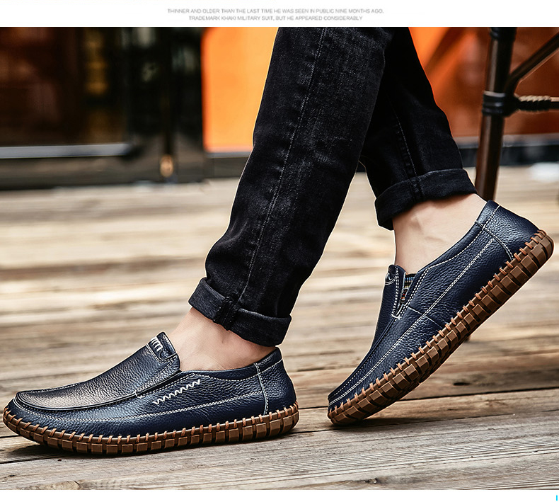New Men's Fashion Business Leisure Big Size Shoes