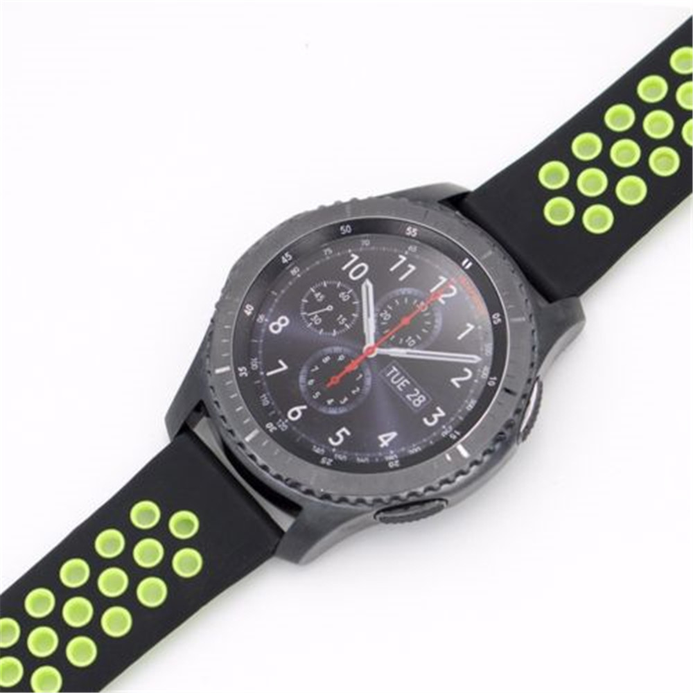 Silicone / Rubber Sport Band Watch Strap For Samsung Gear S3 Classic / Frontier