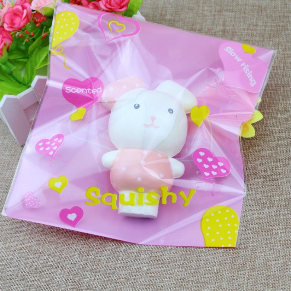 PU Slow Rising Squishy Toy Cute Rabbit