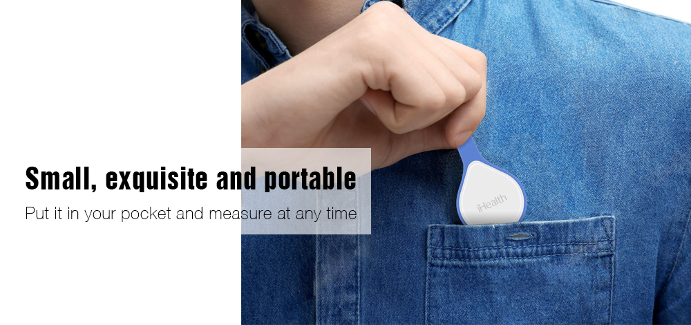 iHealth Smart Portable Blood Glucose Meter