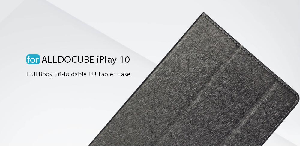 Original ALLDOCUBE / Cube iPlay 10 Protective Case Foldable Stand Function