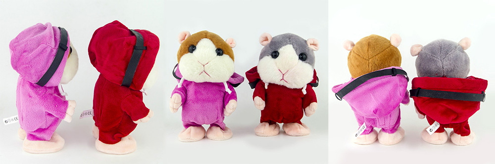 Creative Talking Hamster Electronic Pet Toy for Kids 1pc