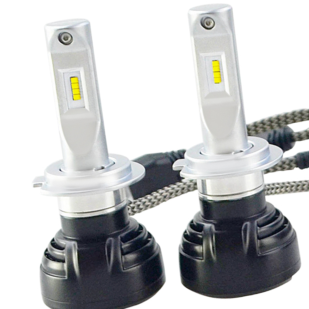 2pcs Automotive LED Headlight Bulb for Car with Patent Design H7 40W