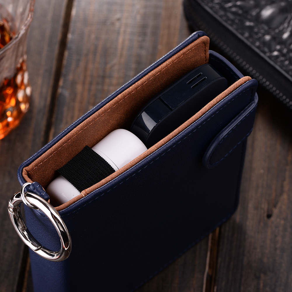 PU Leather Case Box Holder Storage Pouch Bag Carrying Full Protective Cover for iQOS Electronic Cigarettes