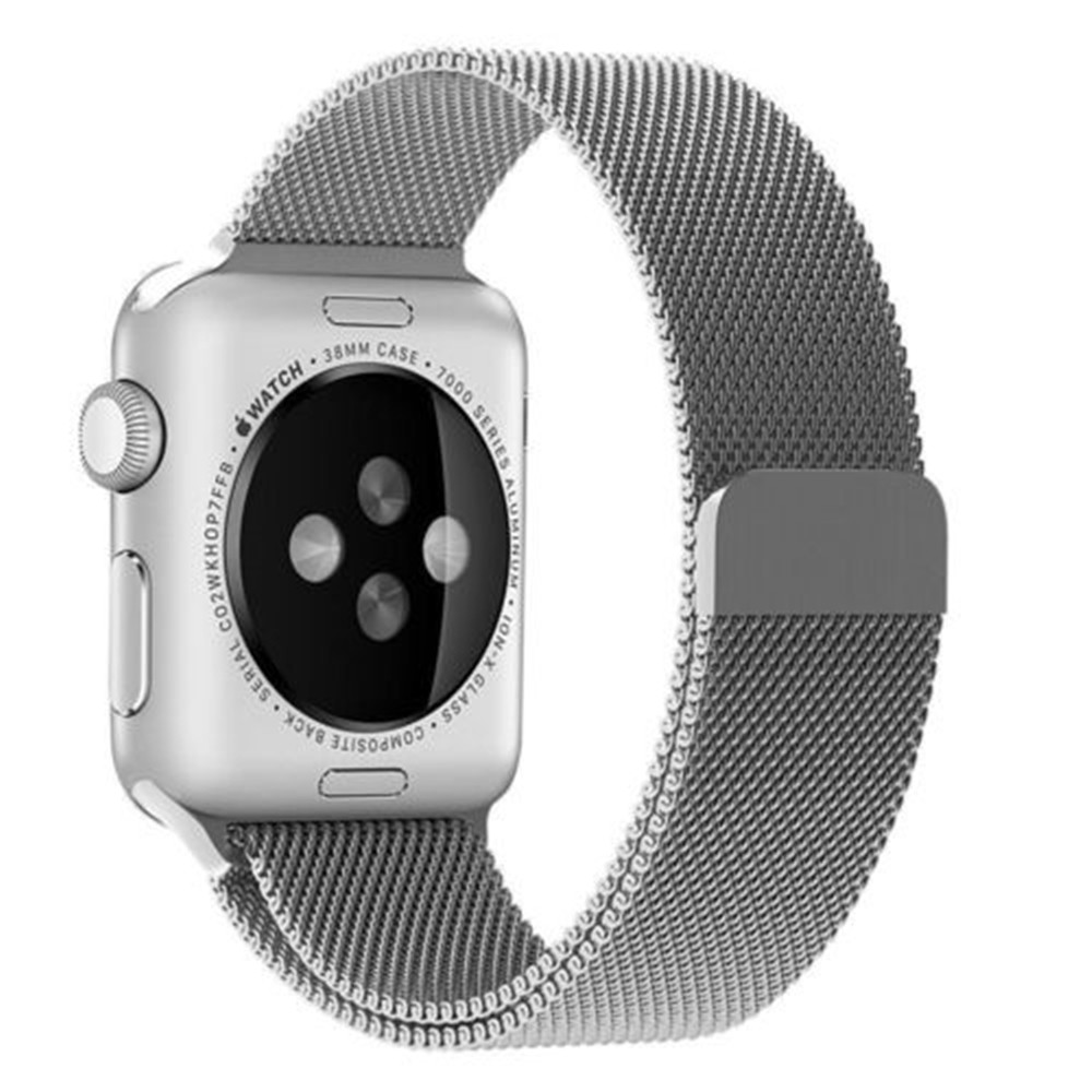 Milanese Loop Wristband for Apple Watch Series 3 / 2 / 1 38MM - Rose Gold