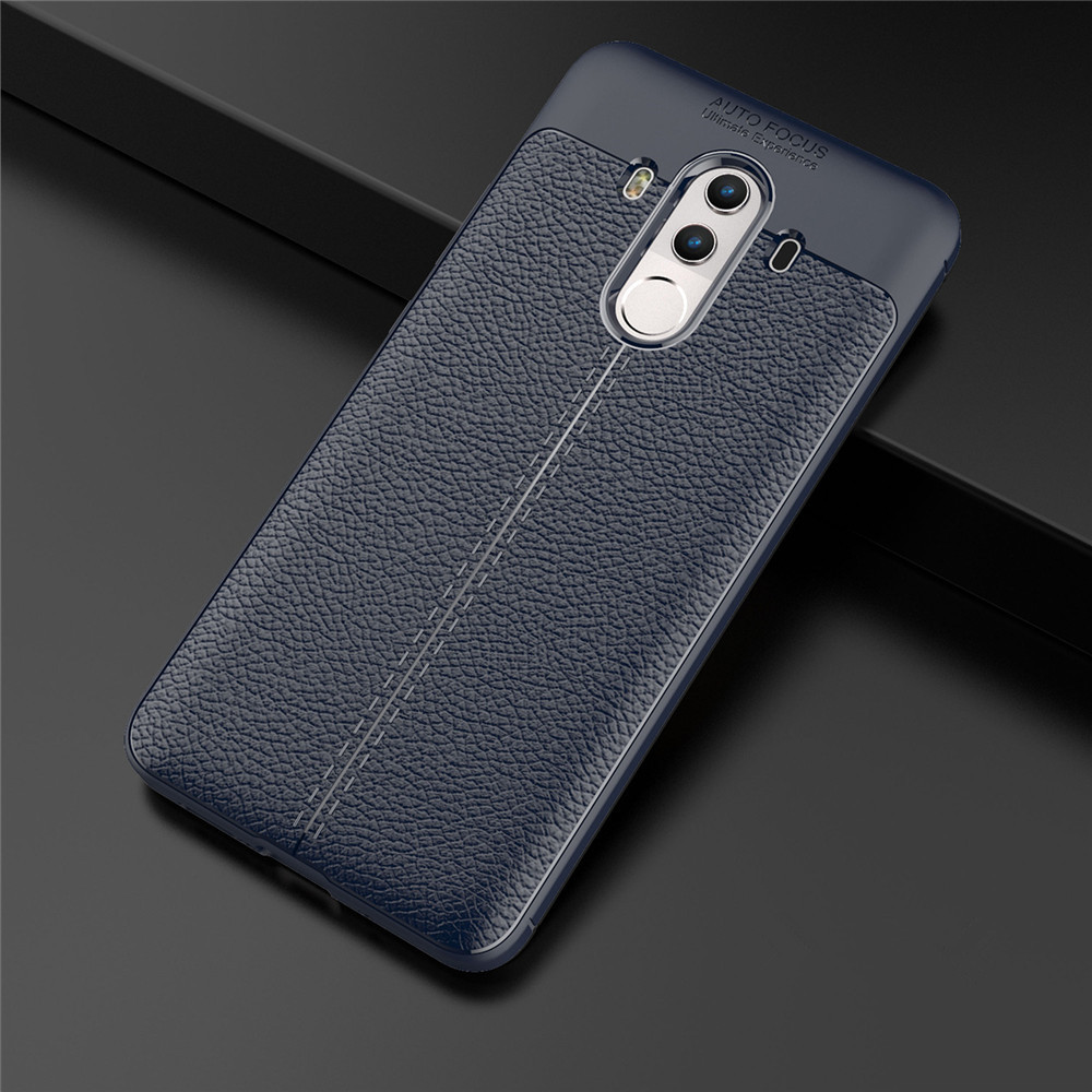Shockproof Back Cover Solid Color Soft TPU Case for Huawei Mate 10 Pro