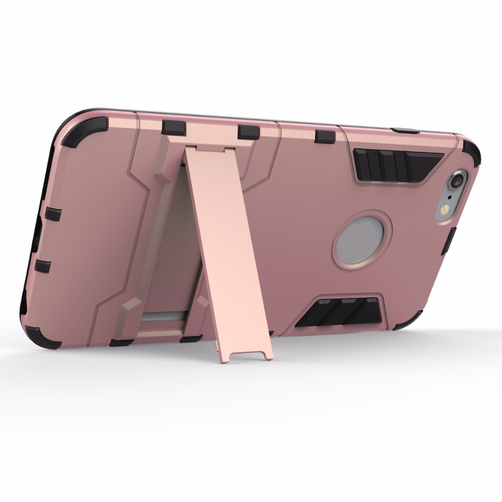 Luxury Tough Shell Armor Case Dual Layer Hybrid Back Cover With Stand for iPhone 6 Plus / 6s Plus