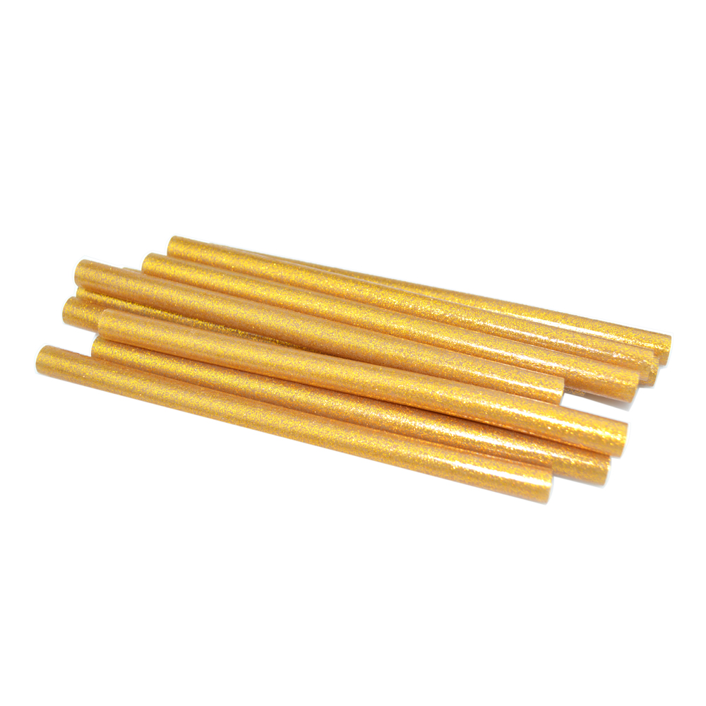 10 Pcs with Gold Star 11X180MM Hot Melt Glue Stick 11MM DIY Multi-Function Repair Tools