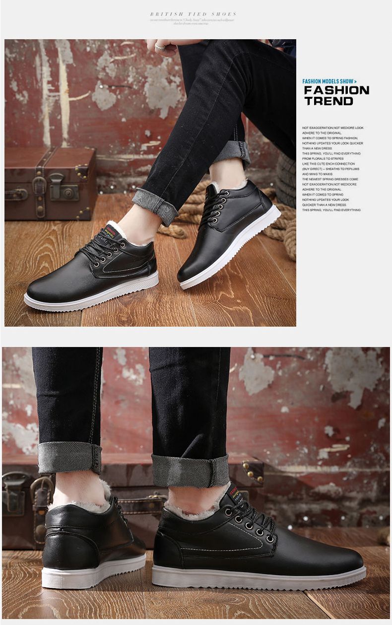 New Style Cotton Men's Shoes