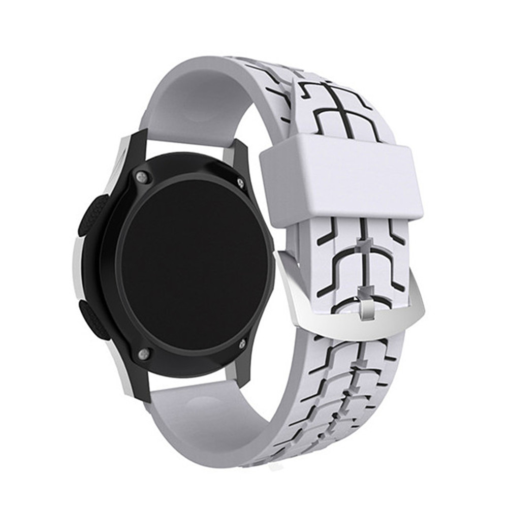 Silicone Fish Bone Texture Band For Samsung Gear S3 Frontier Double Side Strap Only Classic Replace Bracelet