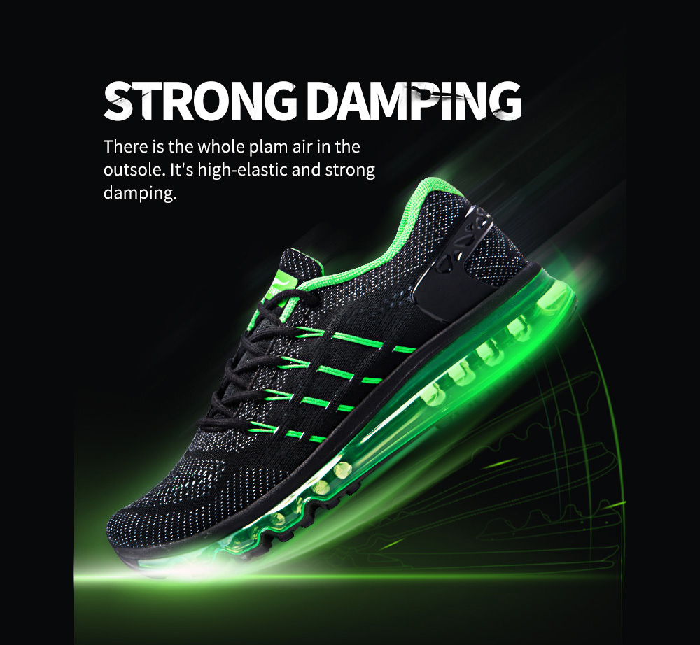ONEMIX Couple Breathable Ultralight Air Cushion Athletic Shoes
